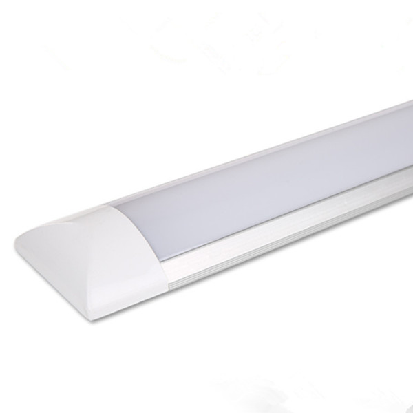 1200MM 4FT LED Flat Tube 36W with Aluminum Radiator and Frosted PC Cover