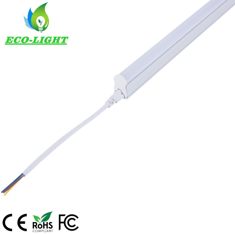 Aluminum frosted Plastic Surface mounted 1FT 295mm 5W T5 Integrated tube lighting