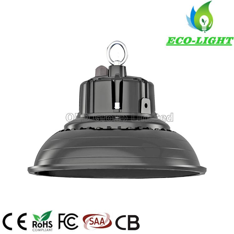 High Efficiency Waterproof Industrial Warehouse IP65 Aluminum 150W UFO LED High Bay Light - 副本