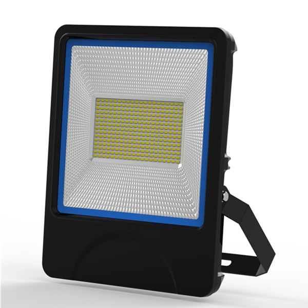 150W SMD LED Architectual lighting IP66 Outdoor Lighting textured die-casting Aluminum radiator Black or Blue sides