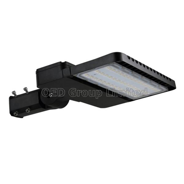 AC85-277V IP65 150W Shoebox LED Street light with Ra 80 and 3-5 years warranty