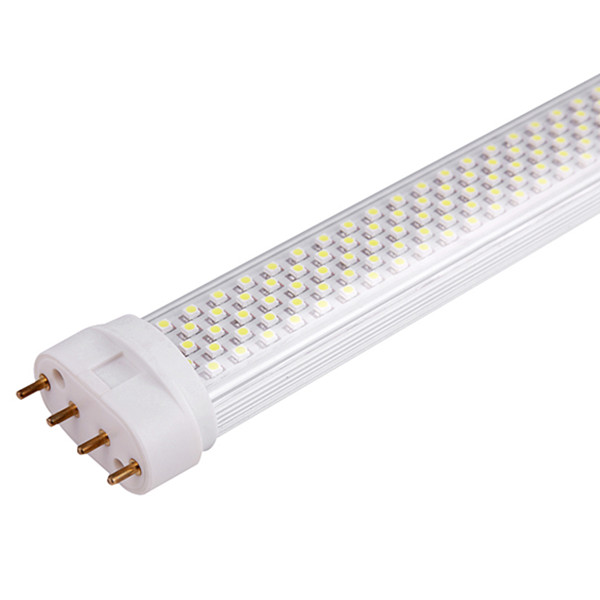 22W 2G11 LED Tube Light with Aluminum Radiator and PC Cover