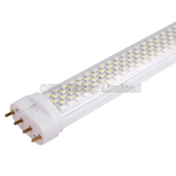 CE 2g11 LED Lamp 18W 1800lm with >50000 Hours Lifetime and Epistar 2835SMD