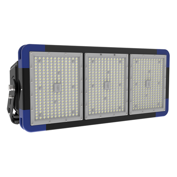 IP66 540W LED Floodlight 85-277V AC Court Playground Lighting with Philips Chip and Meanwell Driver 140lm/W