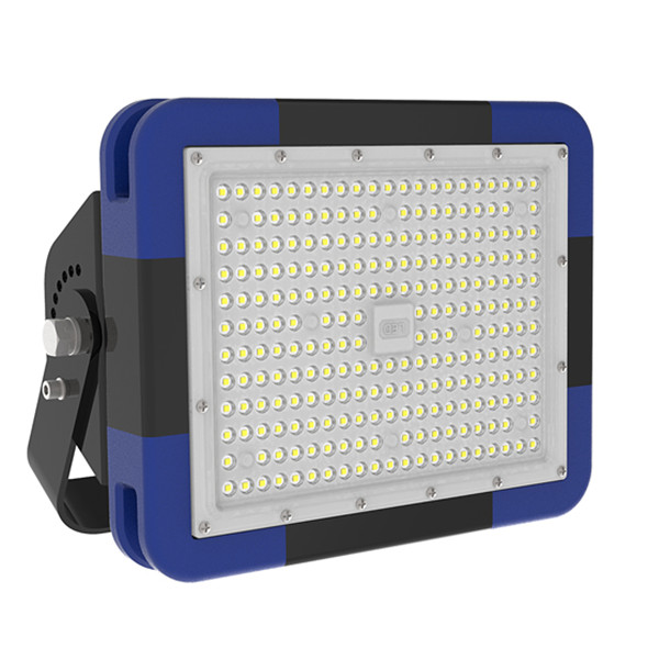 IP66 200W LED Floodlights, 140lm/W with 85-277V AC for Football Field Lighting with Philips Chip MW Driver