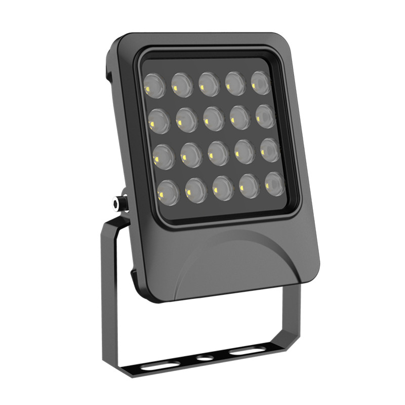 60deg or 90deg Black Case 20W LED Flood Lamp IP65 Outdoor die-casting Aluminum