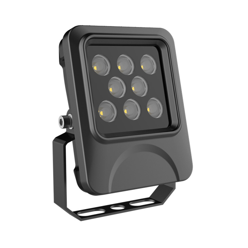 60deg or 90deg Black Case 10W LED Flood Lamp IP66 Outdoor die-casting Aluminum