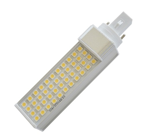110V 230V Dimmable 9W G24 E27 PL LED Bulb with PC cover or without cover 3 years warranty