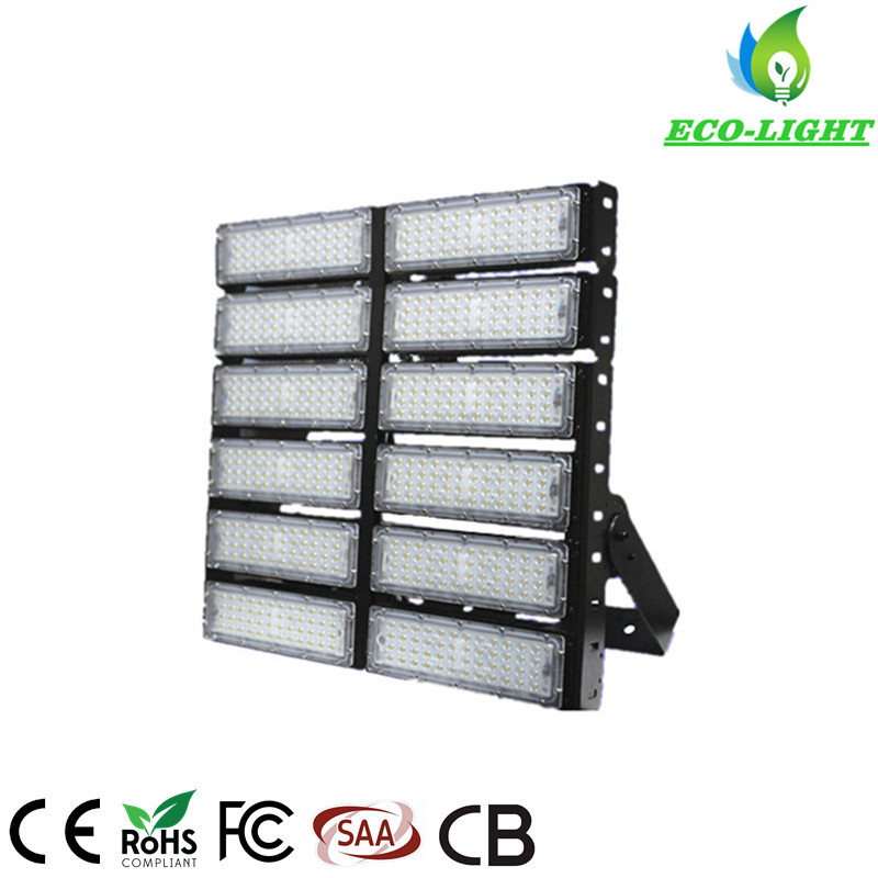 3030SMD Module Philips Chip LED Flood Lighting SMD 600W LED Flood light