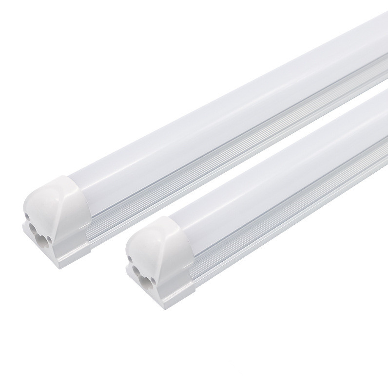 China factory 3 years warranty 8ft 8 foot led light fixtures 2400mm 65W v shape led tube 8 feet