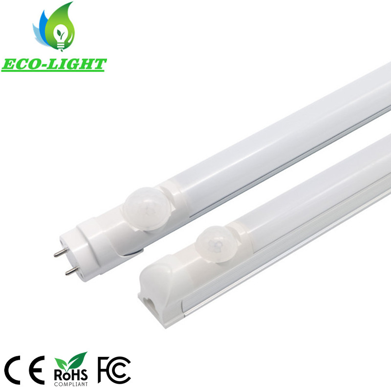 China factory 3 years warranty  t8 led 1200mm motion sensor led tube light fixture