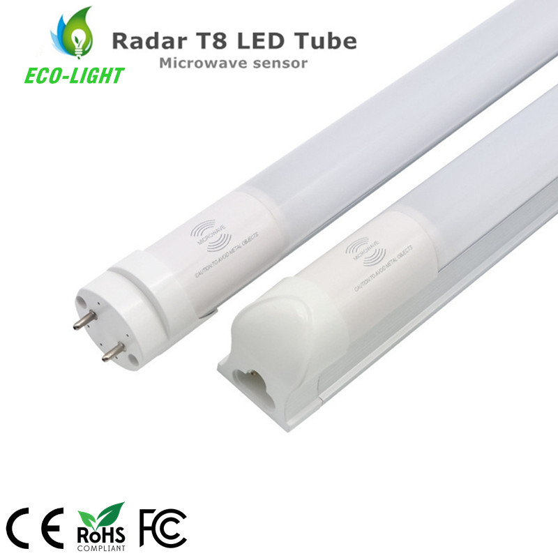 China factory 3 years warranty  t8 led 1200mm t8 led radar motion sensor tube light