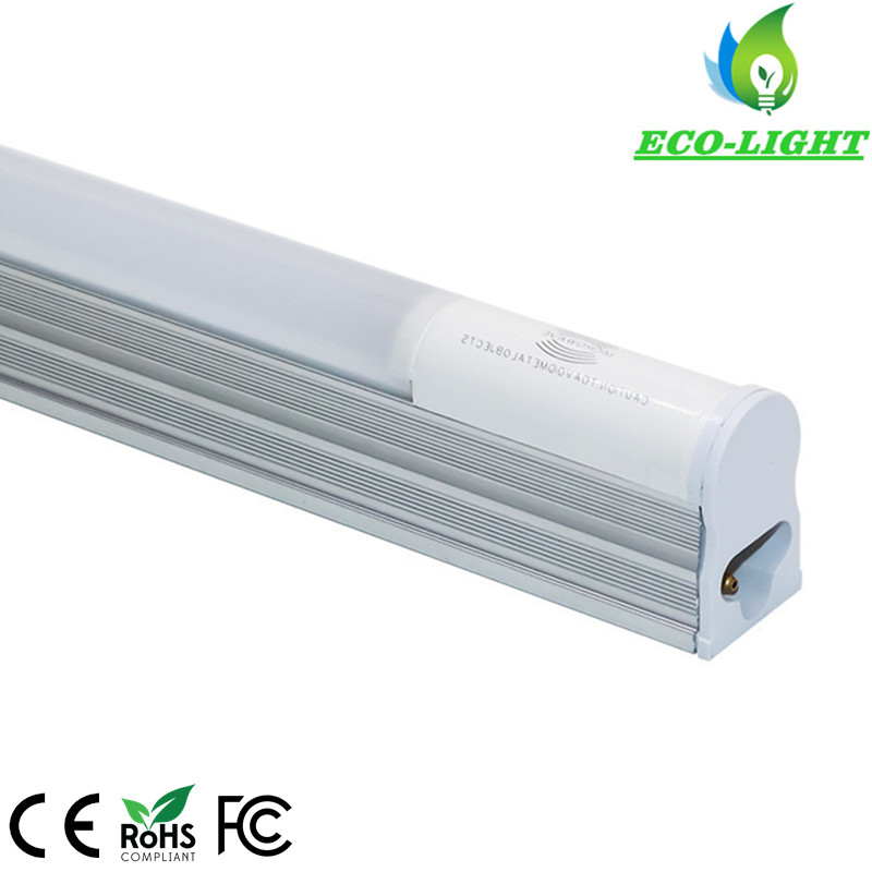 Intergrated with fixture AC85-265V 3years warranty 18W T5 motion sensor led tube light