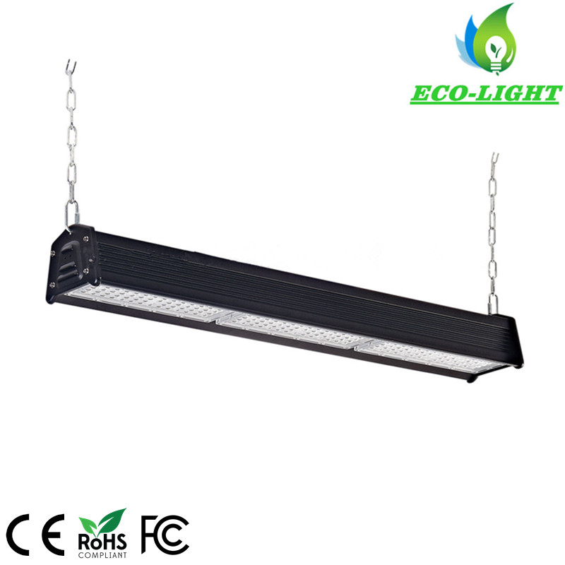5 years warranty black aluminum meanwell driver 150w led linear highbay lamps