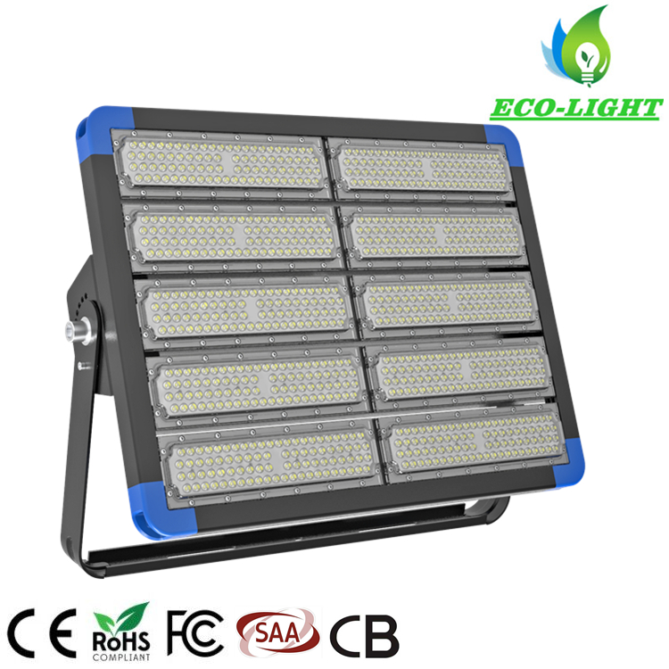 Outdoor IP66 5 years warranty 500w LED modular tunnel light LED flood lighting