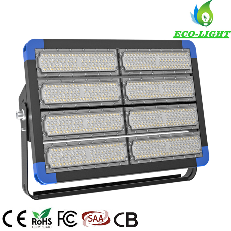 IP66 high power 400W outdoor waterproof dustproof LED flood tunnel light for stadium lighting