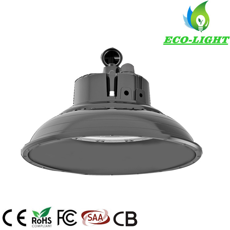 5 years warranty IP65 waterproof 200w high power UFO LED warehouse factory high bay light
