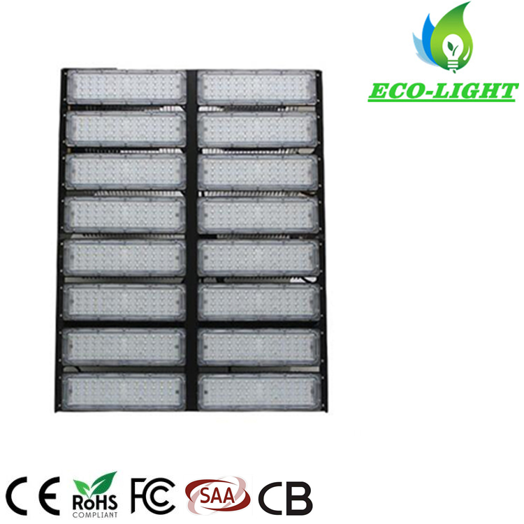 Shenzhen factory 800W high power LED outdoor module stadium flood light