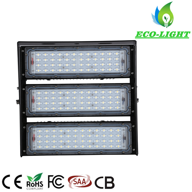 New type module LED flood light projection lamp 150w high power workshop outdoor square lighting