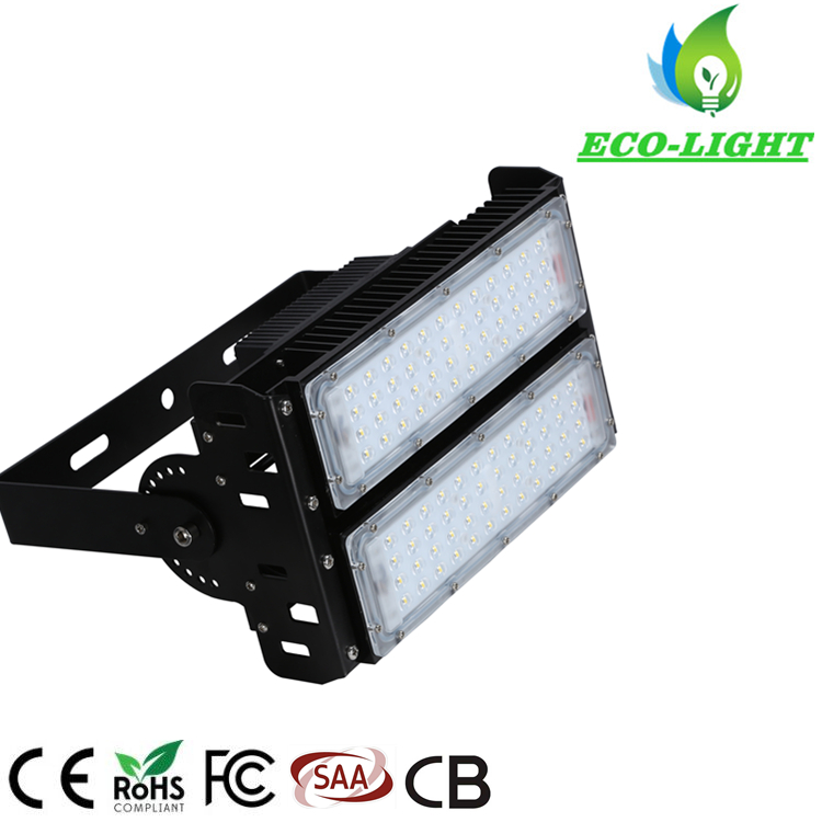100W outdoor waterproof IP65 LED module SMD flood lamp Stadium Light with 5 years Warranty
