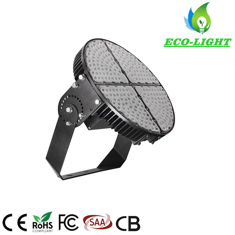 Shenzhen factory private mode 400w high power LED round stadium light with 5 years warranty