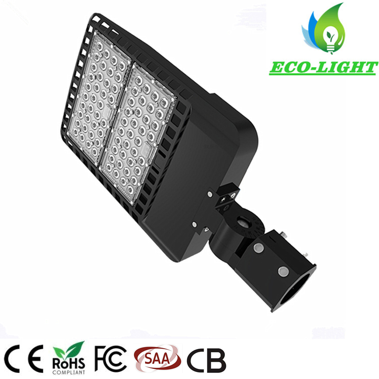 Factory direct 150W LED new type American standard shoe box street light parking lot street light with 5 years warranty
