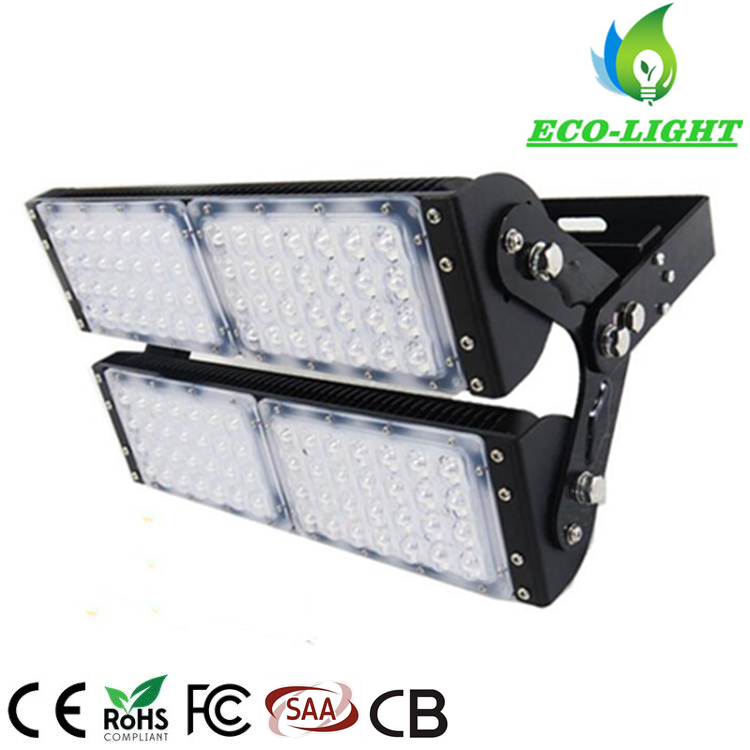 LED high pole light 200w module SMD floodlight with 60 degree 90 degree Beam Angle