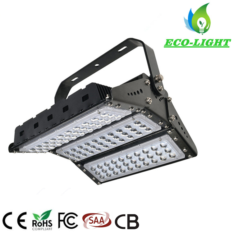 High power 150W module SMD IP65 square pier stadium lighting LED flood light