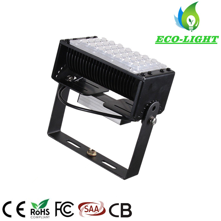 Factory Direct 50 W LED Module Flood Light Corrosion Resistant Waterproof Stadium Flood Light