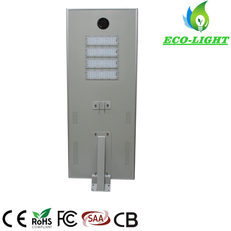 Shenzhen factory High Quality 100W Residential Park Road Lighting LED Integrated Solar Street light