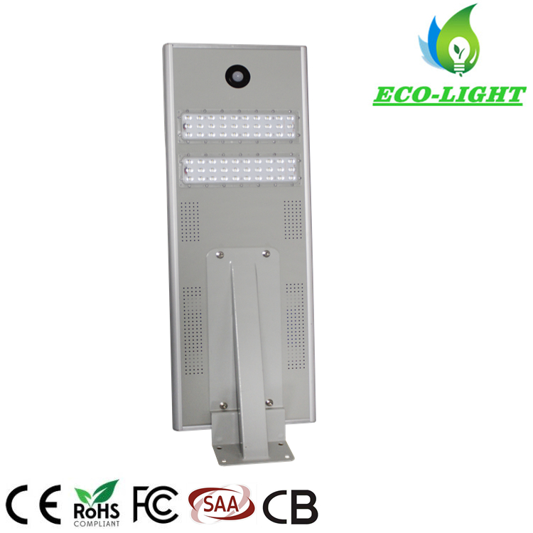 Shenzhen factory IP65 Integrated Solar LED Street light 40W