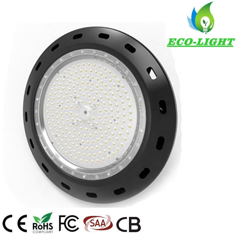 200W High Quality Epistar IP65 UFO LED HighBay Light with Ce RoHS SAA TUV Approval