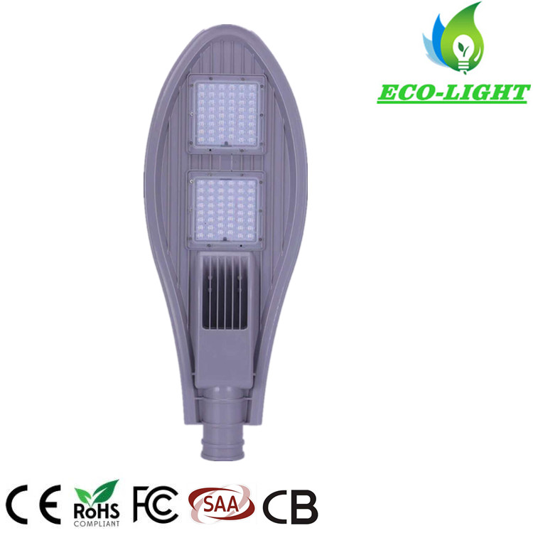 IP65 3 years warranty racket design 100W SMD LED street light for road garden lighting
