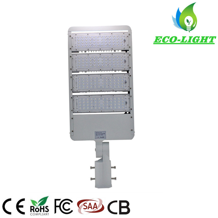 Adjustable Beam angle high power 200W IP65 LED module street lights