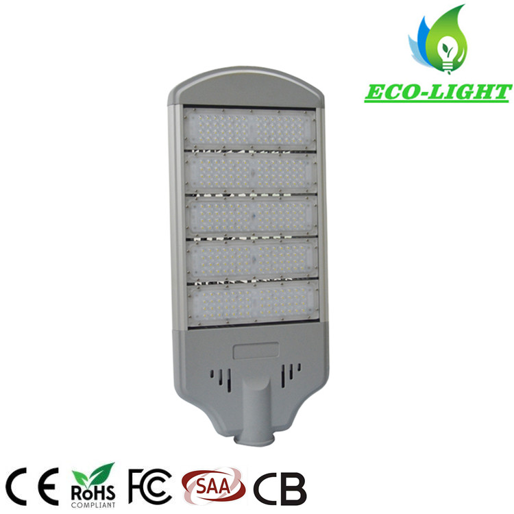 High Power 250W SMD3030 module LED street light with CE/ROHS/SAA