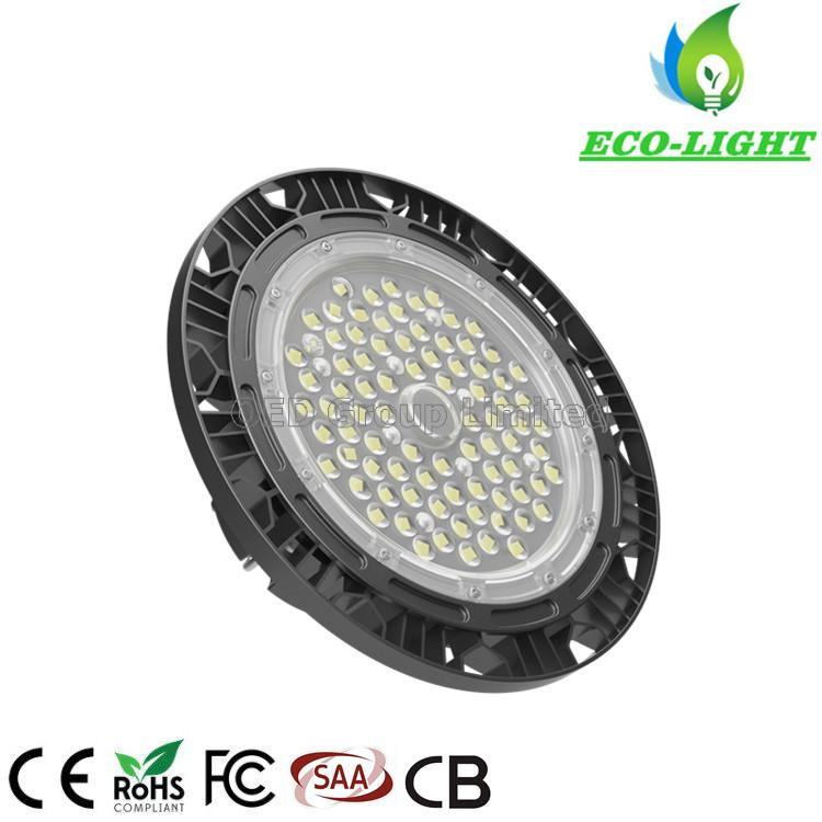 IP66 Modern Industrial Lighting UFO LED High Mast Lamp 100W