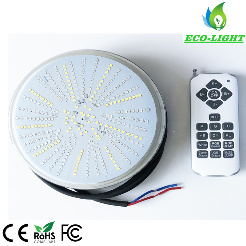 12V AC/DC LED 30W recessed RGB LED pool light par56