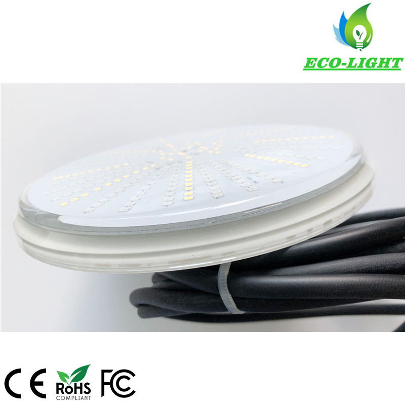 IP68 flat par 56 12V AC/DC LED underwater pool light 36W