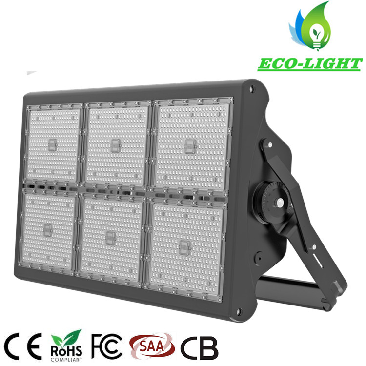 Indoor Factory and Outdoor Stadium Lighting 5 Years Warranty 1500W LED High Bay Flood Lamp