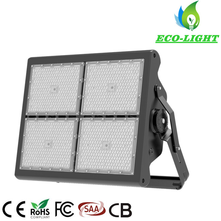 Shenzhen manufacturer IP66 LED stadium lighting 1000w LED high mast flood lights