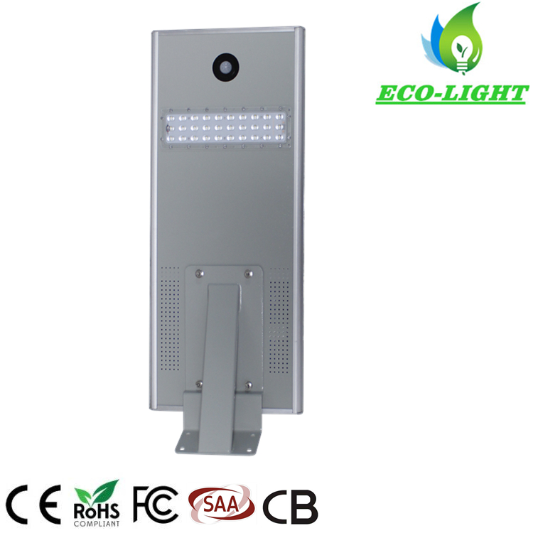 IP65 25W all in one Integrated LED solar street light for garden lighting
