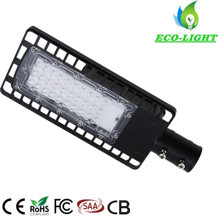 Custom High Brightness SMD Road Lamp Waterproof IP65 30W LED Street Light
