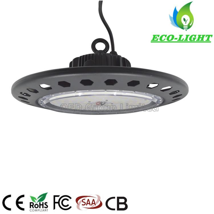 Lowest price factory industrial lighting IP65 170LM/W SMD 200w UFO LED highbay light