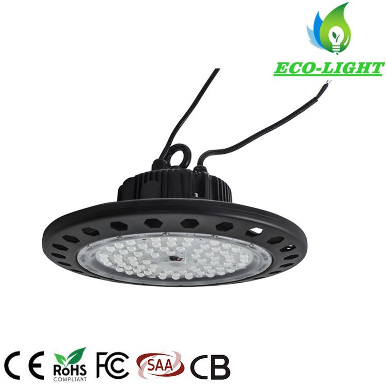 High quality 170LM/W 5 years warranty lamp 150 watt UFO LED high bay light for warehouse workshop