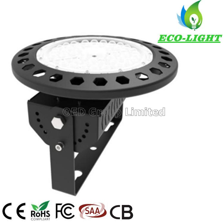 High quality industrial high bay lighting IP65 SMD UFO high power 200W high mast light