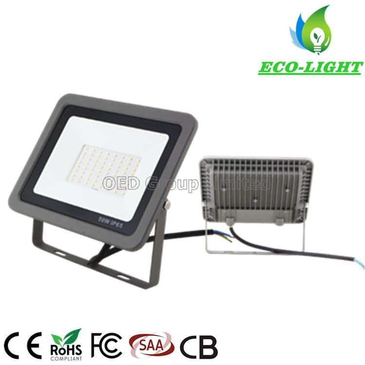 New type IP65 outdoor waterproof SMD flood lights 50W LED