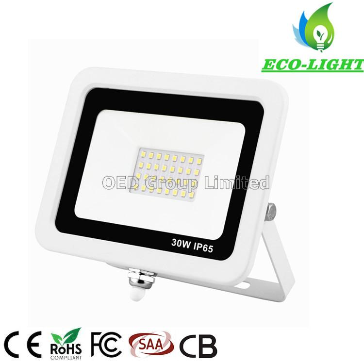 High brightness IP65 outdoor waterproof 30W SMD square LED flood light
