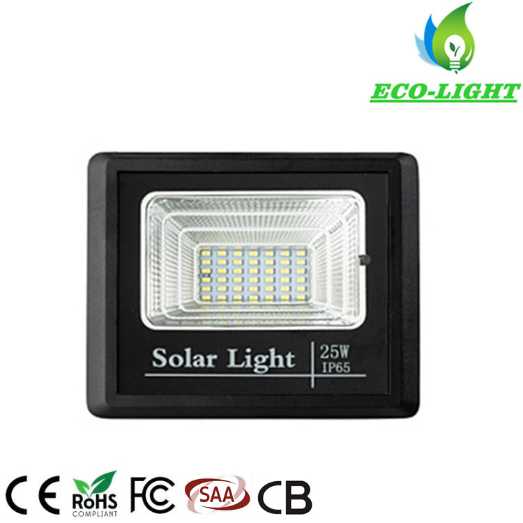 IP65 25W LED Wall Light Solar Outdoor Security Flood Light Lamp