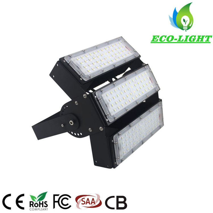 High Quality IP65 Outdoor 150W Modular Adjustable Angle Sports Fields LED Flood Light