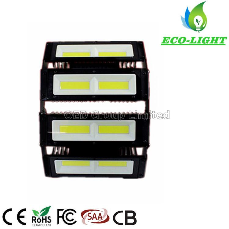 High Brightness Outdoor Adjustable Angle Lights IP67 Industrial 200 Watt LED COB Flood Light